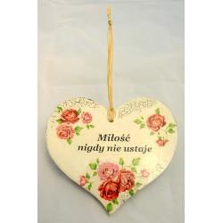 Serce małe-zawieszka 2