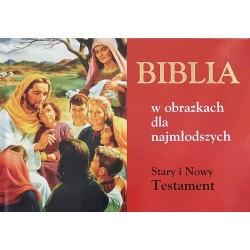Biblia w obrazkach dla najmłodszych St. i N. Testament